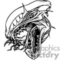 black and white dragon template  gif, png, jpg, eps