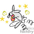easter bunny holding an easter egg gif, png, jpg