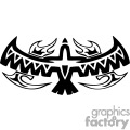Tribal bird symbol