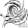 Snail Tattoo Design