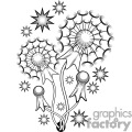 Dandelion Tattoo Design
