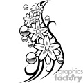Flower Balls Tattoo Design