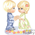 a little blue eyed blonde hair couple holding hands gif, png, jpg, eps