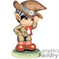 elf little boy touching his hat gif, png, jpg, eps