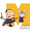 2757-Funny-Cartoon-Alphabet-M