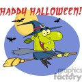 happy halloween witch riding her broom gif, png, jpg, eps, svg, pdf