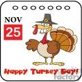3537-Thanksgiving-Holiday-Calendar vector clip art image