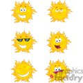 4066-Happy-Sun-Mascot-Cartoon-Characters-Set