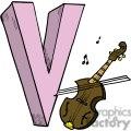cartoon V