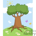 tree in the spring gif, png, jpg, eps, svg, pdf