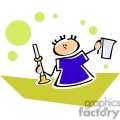 cartoon student holding measuring tools  gif, png, jpg, eps, svg, pdf