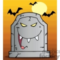 tombstone with a face on it gif, png, jpg, eps, svg, pdf