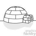 vector igloo  gif, png, jpg, eps, svg, pdf