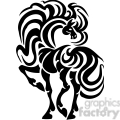 fancy horse design