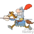 5136-knight-riding-horse-royalty-free-rf-clipart-image