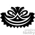 tribal masks vinyl ready art 018  gif, png, jpg, eps, svg, pdf