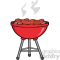 grilled sausages on barbecue gif, png, jpg, eps, svg, pdf