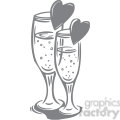 wine glasses of love gif, png, jpg, eps, svg, pdf
