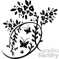chinese swirl floral design 084  gif, png, jpg, eps, svg, pdf