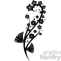 chinese swirl floral design 045  gif, png, jpg, eps, svg, pdf