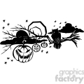 Halloween clipart illustrations 007