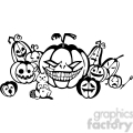Halloween clipart illustrations 036
