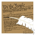 we the people illustration