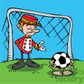 cartoon soccer goalie  gif, png, jpg, eps, svg, pdf