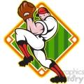baseball pitcher front diamond