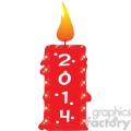2014 candle clipart  gif, png, jpg, eps, svg, pdf