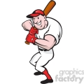 baseball player batting front  gif, png, jpg, eps, svg, pdf