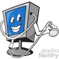 computer repair character