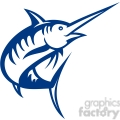 swordfish vector outline