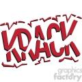 krack onomatopoeia clip art vector images