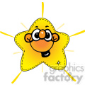 cartoon happy star  gif, png, jpg, eps, svg, pdf