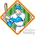 baseball player batting side kneel diamond  gif, png, jpg, eps, svg, pdf