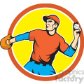 baseball fielder throwingball side circ  gif, png, jpg, eps, svg, pdf