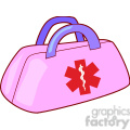 pink medical aid bag gif, png, jpg, eps, svg, pdf