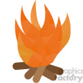 Fire geometry geometric polygon vector graphics RF clip art images