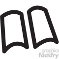 open book vector icon  gif, png, jpg, svg, pdf