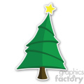 christmas tree sticker v6  gif, png, jpg, eps, svg, pdf