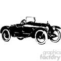 old vintage distressed speedster car retro vector design vintage 1900 vector art GF