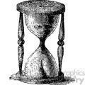 vintage hourglass vector vintage 1900 vector art GF