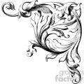 vintage distressed vintage wood corner carving right wedding ornament gf vector design vintage 1900 vector art gf gif, png, jpg, eps, svg, pdf