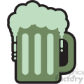 mug of green beer for St Patricks Day svg cut files GF