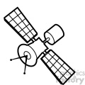 satellite illustration svg cut file vector