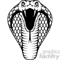 cobra vector art tattoo design