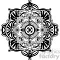 mandala geometric vector design 002