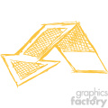 sketched down arrow vector art