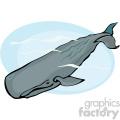 Deep diving Sperm whale
